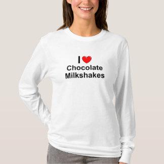 T-shirt Milkshakes de chocolat