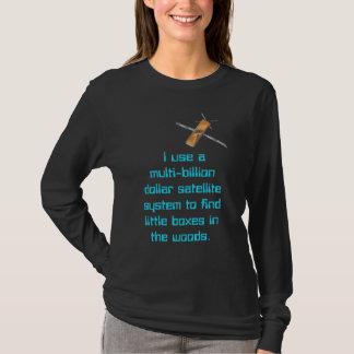 T-shirt Milliard de système multi de satellite du dollar
