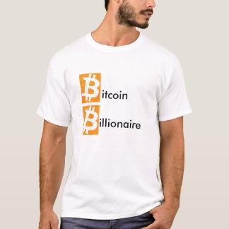 T-shirt Milliardaire de Bitcoin