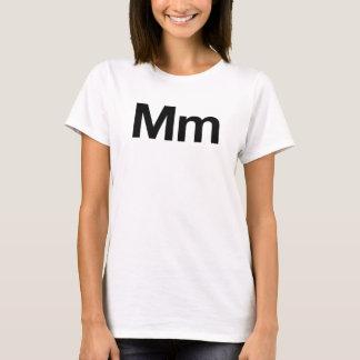 T-shirt Millimètre helvetica