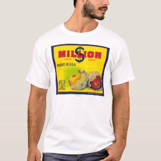 T-shirt Million de dollar Apple marquent - Walla Walla, WA