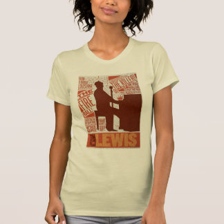T-shirt Million de type de Lewis de quartet du dollar