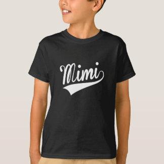 T-shirt Mimi, rétro,