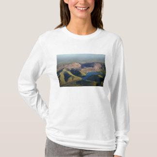 T-shirt Mine à motifs de losanges de diamant