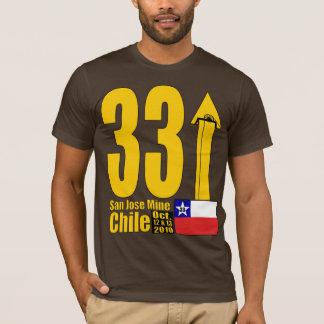 T-shirt Mine de San Jose, délivrance de mineur du Chili -
