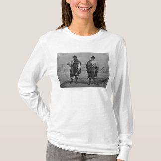 T-shirt Mineurs du Chili, gravés par F. Lehnert