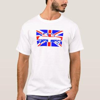 T-shirt Mini classique de drapeau des syndicats