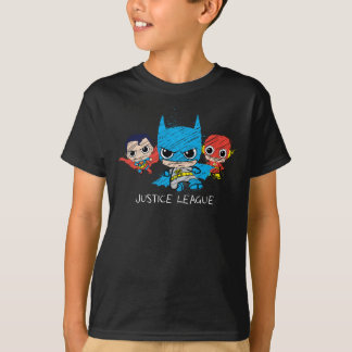 T-shirt Mini croquis de ligue de justice