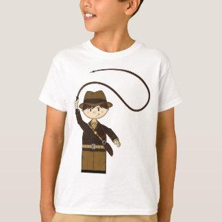 T-shirt Mini explorateur avec Bullwhip