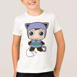 T-shirt Mini femme de chat