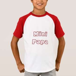 T-shirt Mini Papa