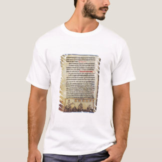 "T-shirt Miniature anglaise, ""Medica"", illustrant un apoth"