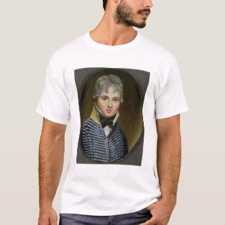T-shirt Miniature de William Howe de Lancey (d.1815), maïs