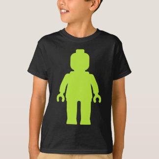 T-shirt Minifig [grand vert de chaux] customisent par mon