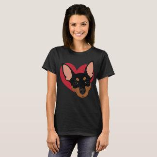 T-shirt minimum No2 de Pin de coeur