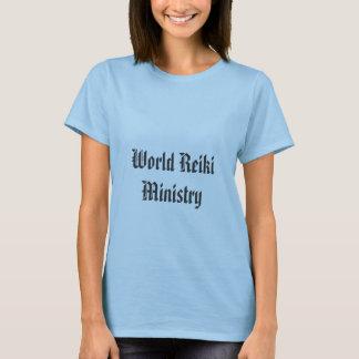 T-shirt Ministère de Reiki du monde