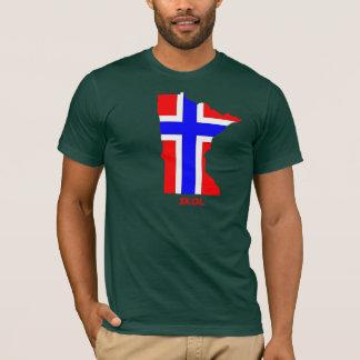 T-shirt Minnesotan norvégien