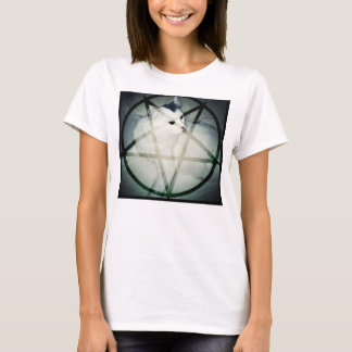 T-shirt minou satanique