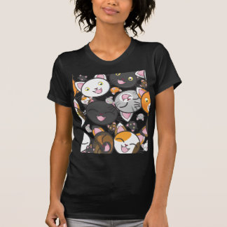 T-shirt Minous de Kawaii - la chemise des femmes