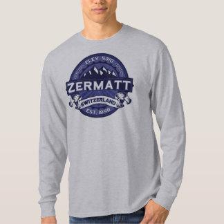 T-shirt Minuit de logo de Zermatt