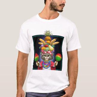 T-shirt Miranda félin