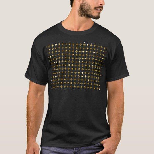 T-shirt Miscellaneous - Gold Foil Diamond Two Pattern