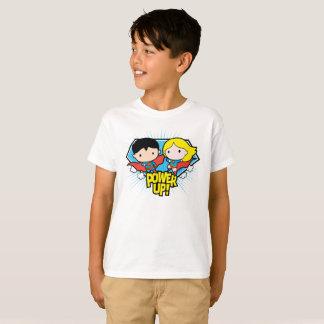 T-shirt Mise sous tension de Chibi Superman et de Chibi