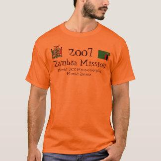 T-shirt Mission de la Zambie, 2008