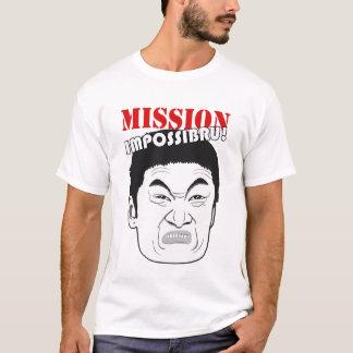 T-shirt Mission Impossibru !