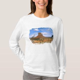 T-shirt Mitaines colorées de vallée de monument en Utah