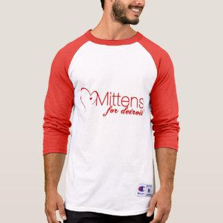 T-shirt Mitaines pour la douille T du champion 3/4 des