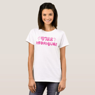 T-shirt Mlle Rodriguez