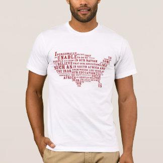 T-shirt Mlle Teen Etats-Unis la Caroline du Sud