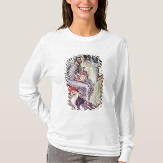 T-shirt Mme 1 fol.90v St Luke, des évangiles d'Ebbo