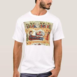 T-shirt Mme 404 fol.1v la nativité, d'un évangile
