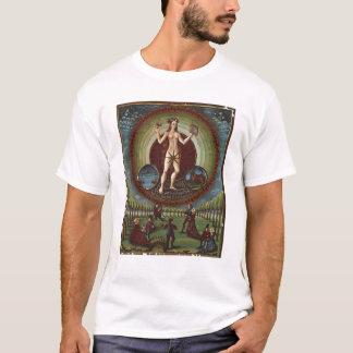 """T-shirt Mme Lat. 209 f.9v Vénus, de """"De Sphaera"""", c.1470"""