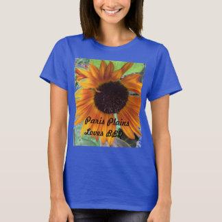 T-shirt Mme Paris raffine le BBQ d'amours