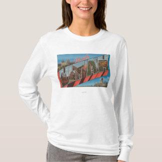 T-shirt Moab, lettre ScenesMoab, UT d'UtahLarge