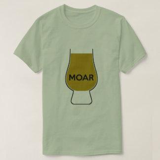 T-shirt MOAR (plein verre)