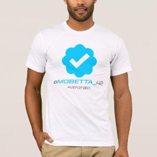 T-shirt @MoBetta_42 - Vérifié