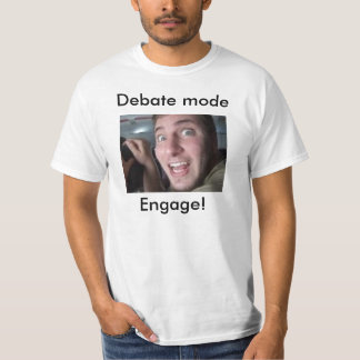 T-shirt Mode de discussion
