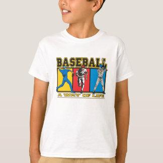 T-shirt Mode de vie de base-ball