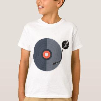 T-shirt mode record d'art de musique