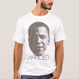 T-shirt Mode tramée changée T d'Obama