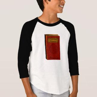 T-shirt Modèle de calembour de livre