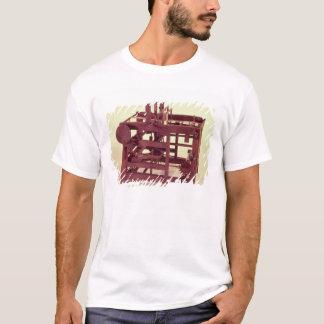 T-shirt Modèle de fonctionnement d'un métier à tisser