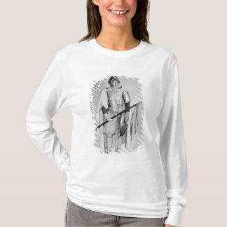T-shirt Modèle d'un cavalier de Carolingian