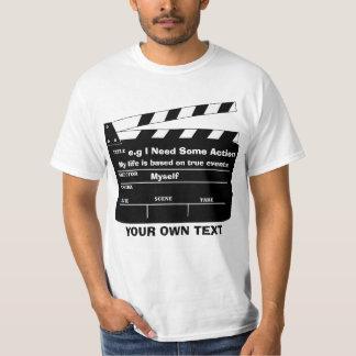 T-shirt Modèle fait sur commande de claquette