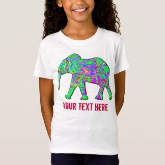 T-Shirt Modèle frais d'enfants drôles colorés de pyjamas
