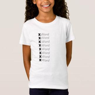 """T-Shirt Modèle nommé """"personnaliser d'acrostiche il """""""